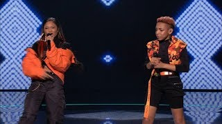 The X Factor UK 2018 Aaliyah & Acacia Live Semi-Finals Night 2 Full Clip S15E26
