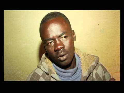 Why did you came to israel? Refugees from Darfur  - footage 1 (Mar 2009)