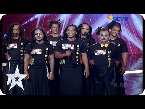 Everyone Got Laughs By Gimbal's Funny Acrobatic - Audition 3 - Indonesia's Got Talent video