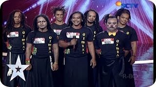 Everyone Got Laughs By Gimbal`s Funny Acrobatic - AUDITION 3 - Indonesia`s Got Talent