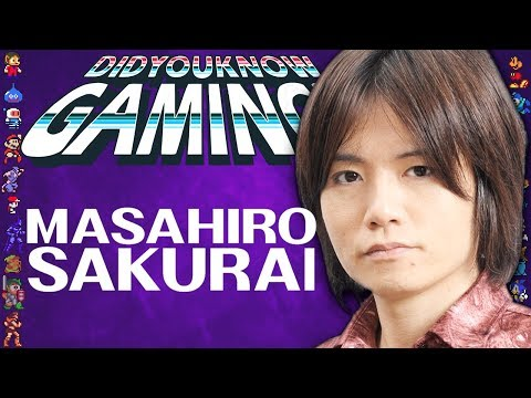 Masahiro Sakurai: From Kirby to Super Smash Bros Ultimate - Did You Know Gaming Ft. Furst