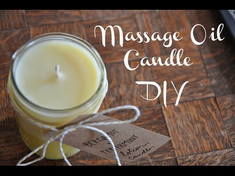 Massage Oil Candle Valentines DIY   Emma Will