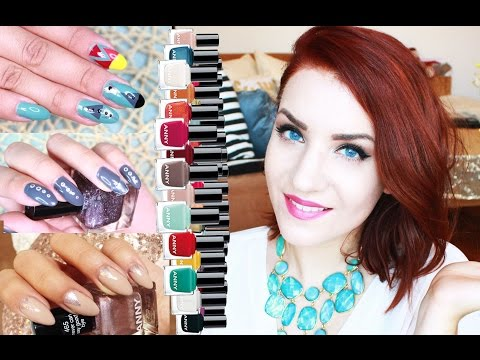 2 Neue Naildesigns + DIY Nagelsticker   | rebeccafloeter