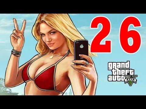 Let´s Play Grand Theft Auto 5 / GTA V Gameplay Deutsch - Part 26 - Strip Club und Promi Sex Tape