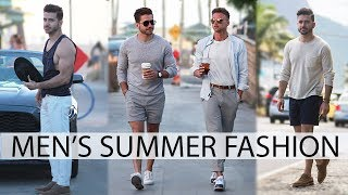 MEN'S OUTFIT INSPIRATION | SPRING & SUMMER FASHION LOOKBOOK | Easy Outfits for Men