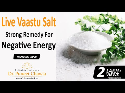 Do You Know How Salt Connected with Vastu? Yes Salt Can Correct Vastu