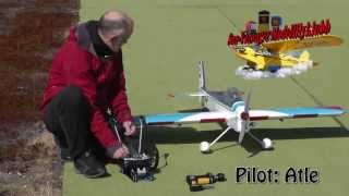 Great Planes U-Can-Do 3D - Windy But Great Landings