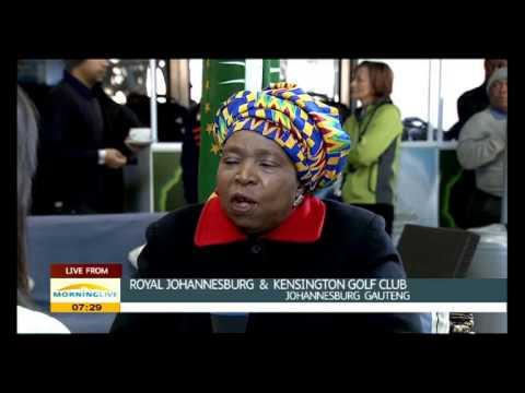 Dlamini-Zuma on AU Summit Presidential Golf Day