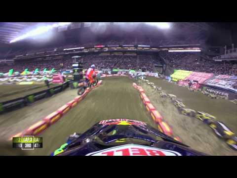 GoPro HD: James Stewart Main Event 2014 Monster Energy Supercross from Seattle