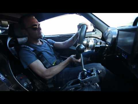 IndyCar and Lotus factory driver Townsend Bell drives 680HP Lotus Elise