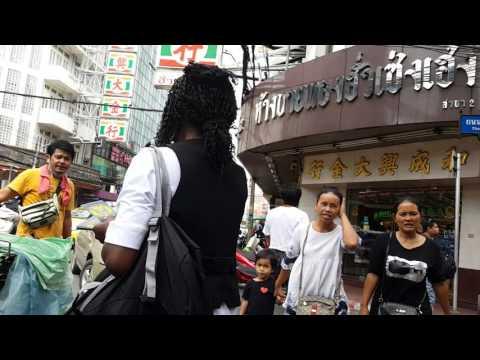 BANGKOK THAILAND. China Town.  Heard the greatest news on World Vision Day.  Harvest Army Church Int