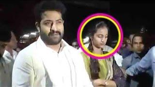 Jr NTR in Tirumala - Pranathi Shocked with NTR Craze