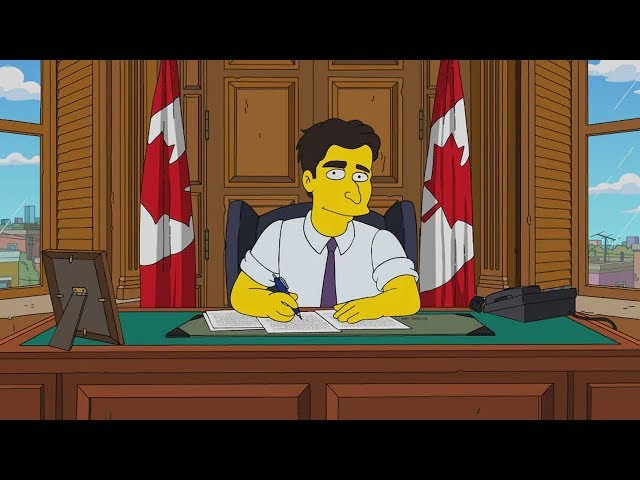 Canadian to voice Trudeau on The Simpsons