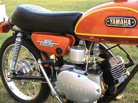 1972 Yamaha JT2 Mini Enduro