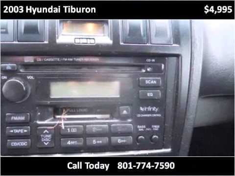 2003 Hyundai Tiburon Used Cars Daves Discount Auto Sale used