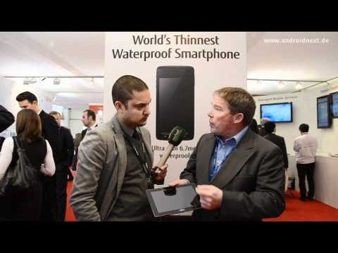 Fujitsu Stylistic M532 Media Tablet - Interview - Meinolf Althaus - MWC 2012 - androidnext