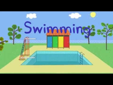 Peppa Pig And George Go Swimming Dvd New Episodes 2013 video