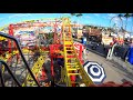 4K Mighty Mouse Roller Coaster Florida State Fair Tampa FL