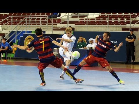 BARCELONA vs DYNAMO. Intercontinental Futsal Cup. Qatar-2016. 25.06.16