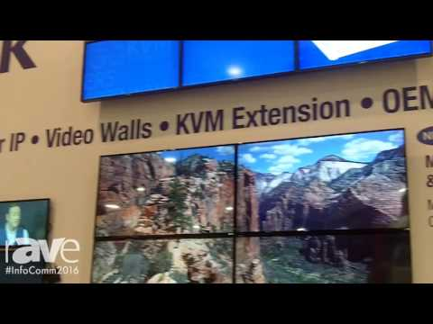 InfoComm 2016: Matrox Graphics Tells rAVe About Its Booth Number N2047 at InfoComm 2016