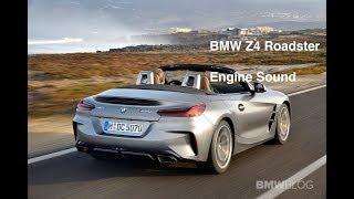 Driving the new 2019 BMW Z4 Roadster