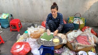Super QUICKLY BREAKFAST in VIETNAM - Vietnamese street food