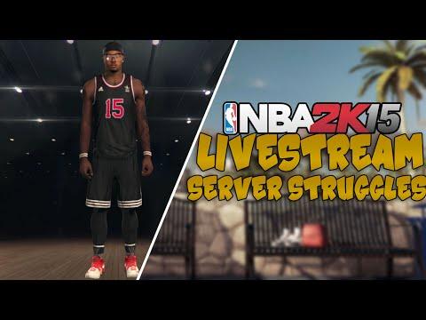 NBA 2K15 MyCAREER Live Stream #1 - DeShawn Hits 2 Buzzer Beaters In 1 Game! MyPARK Server STRUGGLES!