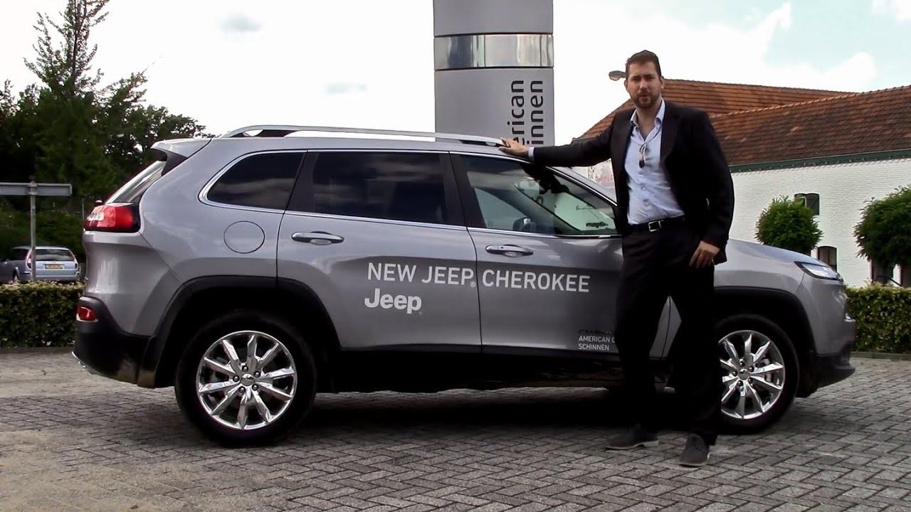 De Nieuwe Jeep Cherokee - American Cars Schinnen - YouTube American Cars Schinnen