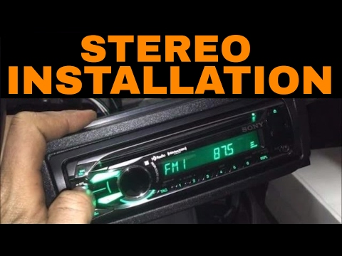 Dodge Dakota Stereo/Deck/Radio Install (2001-2004)