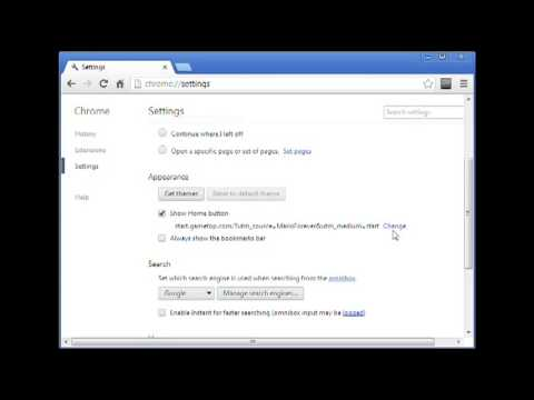 How to Make Google your Homepage in Chrome etc