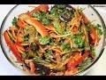 Баклажаны по-корейски / Eggplant salad | Видео Рецепт