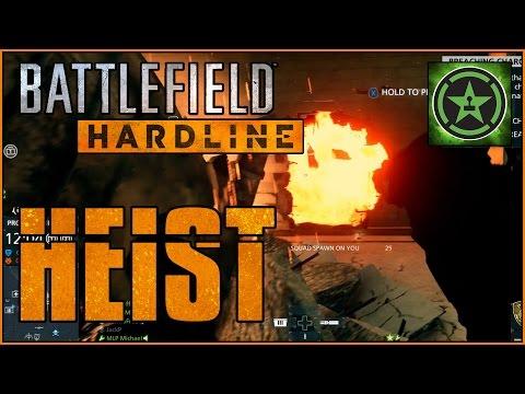 Lets Play Battlefield Hardline Beta: Heist Mode