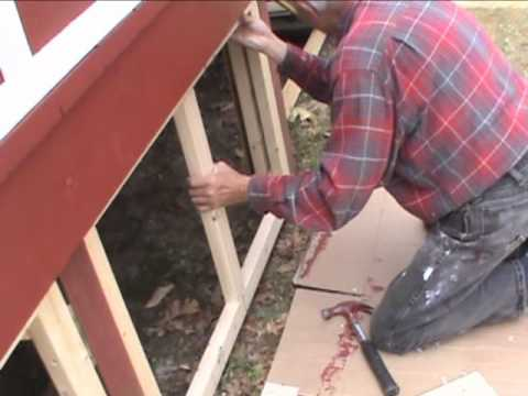 Adding Lattice Panels To Our Porch Youtube