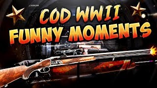 Call of Duty WW2 Funny Moments - Sniper Shotgun & Fun Killcams!