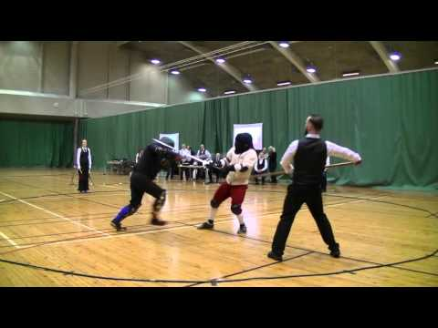 Helsinki Longsword Open 2016 - Men's longsword eliminations round of 16