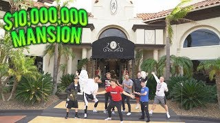 SURPRISING BEST FRIENDS WITH $10,000,000 MANSION!