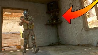 HE WAS HIDING INSIDE OF A TELEVISION?!?! HIDE N' SEEK ON COD 4 REMASTERED!
