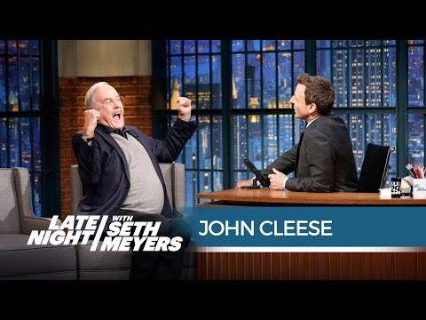 John Cleese and Seth: After the Interview - Late Night with Seth Meyers