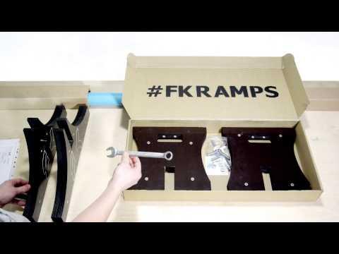 Мобильный рейл для скейта от #FK-ramps