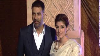 Akshay Kumar and Twinkle Khanna at Manish Malhotra