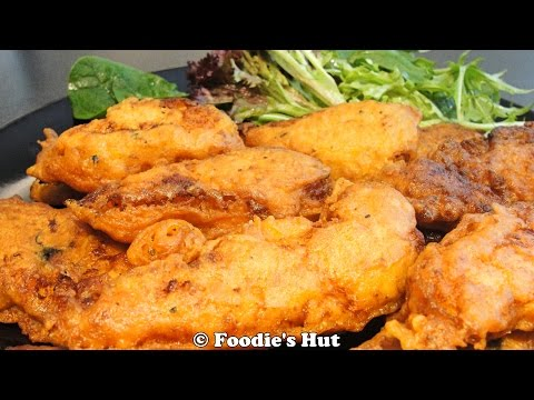 Masala fish batter fry recipe by foodieshut youtube for How do you make batter for fish