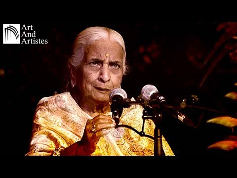 Vidushi Girija Devi | Kajari | Lage Badariya | Taal - Dadra |...