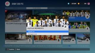 Pes2017 Ps4 How To Use Legend Players On Master League