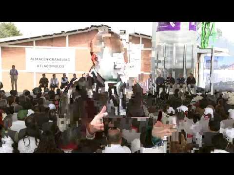 Entrega del Almacén Granelero de Atlacomulco