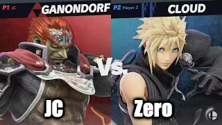 ZeRo (Cloud) vs JC (Ganondorf) - Super Smash Bros. Ultimate | E3 2018