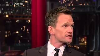 Neil Patrick Harris on David Letterman March 30th 2015 Full Interview