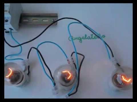 L mparas conectadas en serie y paralelo 1 youtube - Como hacer lamparas ...