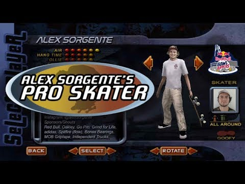 Alex Sorgente's Pro Skater | Red Bull Bowl Rippers