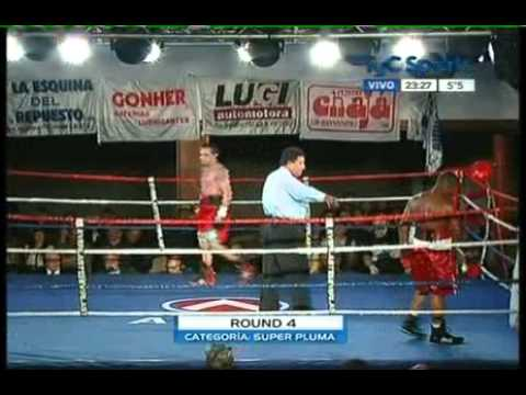 Francisco LORENZO vs Israel PEREZ - TyC - Full Fight - Pelea Completa