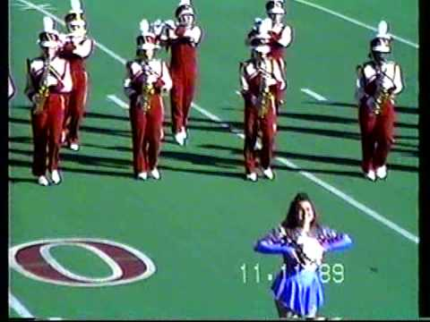 Valley High School (Las Vegas, NV) Marching Band Performance on 11/11/1989